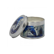 Jasmine Tea (Pack 6) Sacred Love Tin Candle