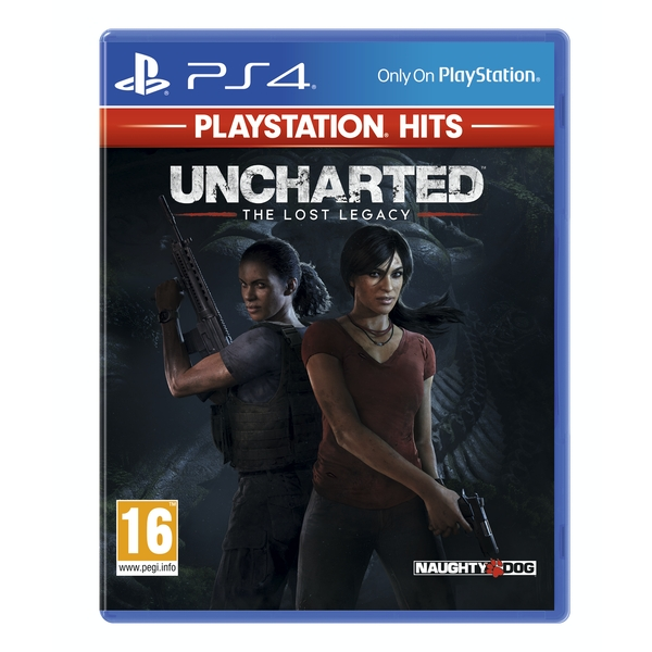 Uncharted The Lost Legacy PS4 Game (PlayStation Hits)