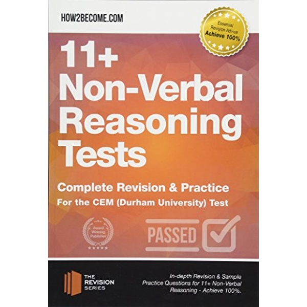 11+ Non-Verbal Reasoning Tests Complete Revision & Practice for the CEM (Durham University) Test Paperback / softback 2018