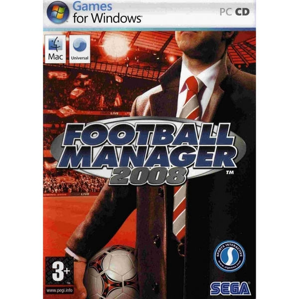 Football Manager 2008 Game PC & MAC