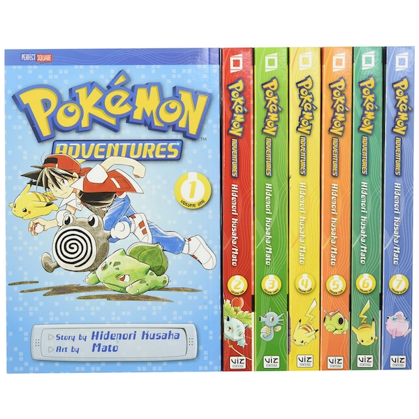 Pokémon Adventures Red & Blue Box Set: Set includes Vol. 1-7: Volume 1 (Pokémon Manga Box Sets) Paperback - Box set, 23 Aug. 2012