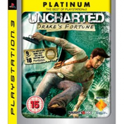 Uncharted Drakes Fortune Game (Platinum) PS3