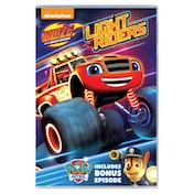 Blaze And The Monster Machines: Light Riders! DVD