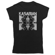 Kasabian - Solo Reflect Women's Large T-Shirt - Black