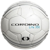 Precision Cordino Lite Match Football 350g White/Silver/Black Size 5