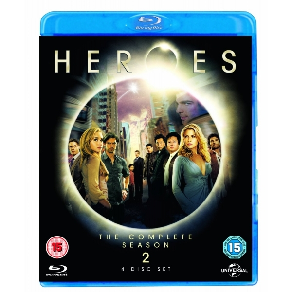 Heroes Series 2 Set Blu Ray