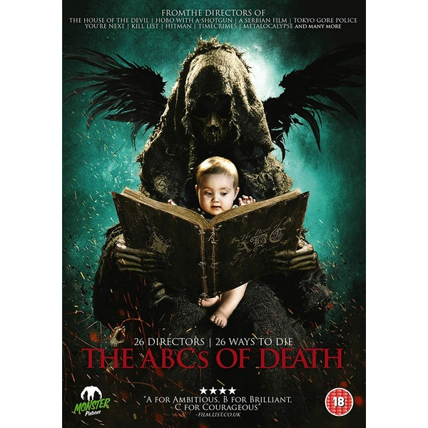 The ABCs Of Death DVD
