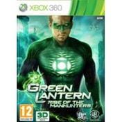 Green Lantern Rise Of The Manhunters Game Xbox 360