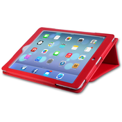 YouSave Accessories iPad Air Leather Effect Stand Case - Red