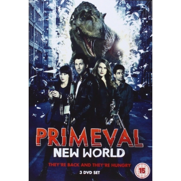 Primeval New World Season 1 DVD