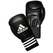 Adidas Performer Leather Boxing Gloves Black 16oz