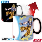 Dragon Ball - Heat Change Dbz/  Goku Vs Buu Mug