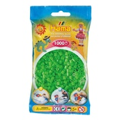Hama - 1000 Beads in Bag (Fluorescent Green)