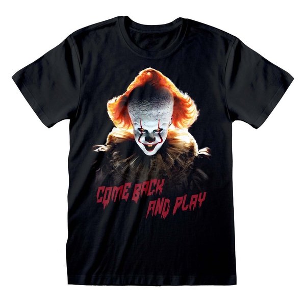 IT Chapter 2 - Come Back And Play Unisex Large T-Shirt - Black