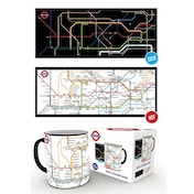 Transport For London Underground Map Heat Change Mug