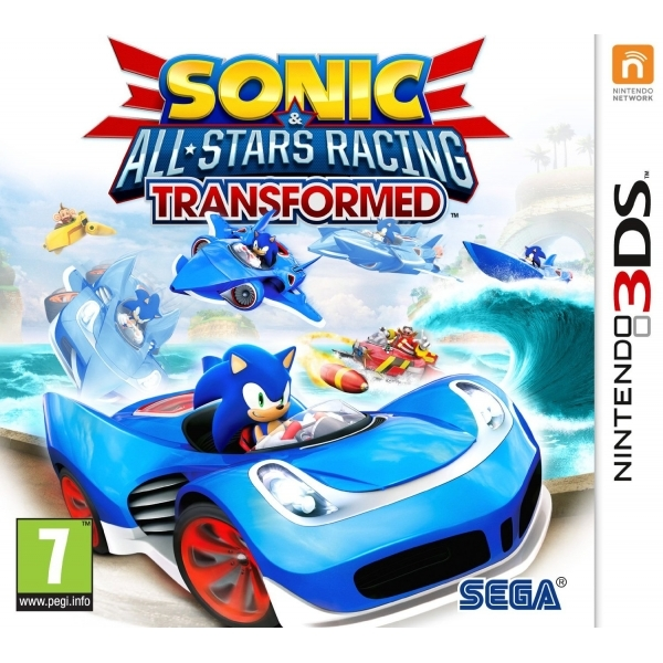 Sonic & All-Stars Racing Transformed Game 3DS