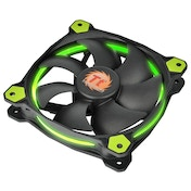 Thermaltake 140 mm Riing14 Led Fan Green