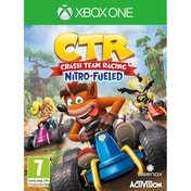 Crash Team Racing Nitro Fueled Xbox One Game + Back Pack Hanger