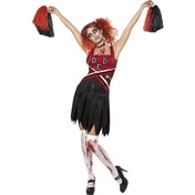 High School Horror Cheerleader Costume Medium One Colour