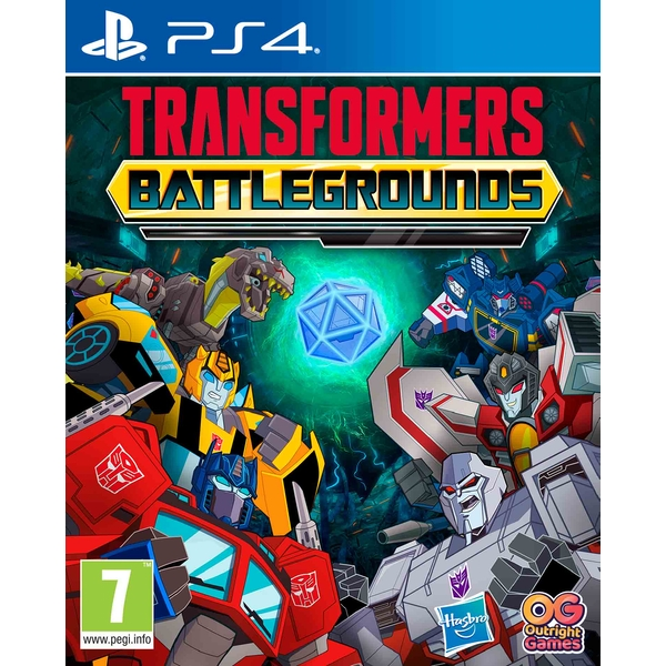 Transformers Battlegrounds PS4 Game