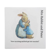 Mrs Rabbit and Peter Decorative Wall Plaque