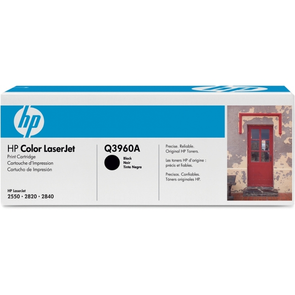 HP Q3960A (122A) Toner black, 5K pages @ 5% coverage - Image 2