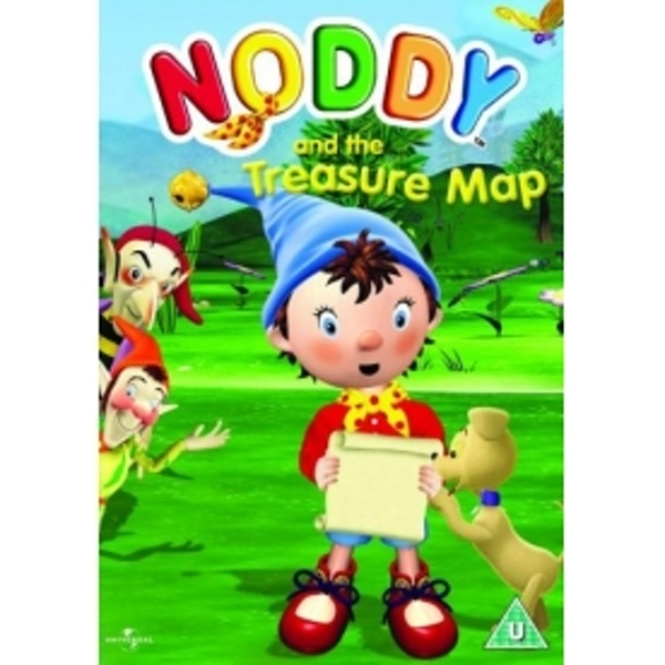 Noddy And The Treasure Map DVD