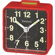 Casio TQ140/4 Beep Alarm Clock Red and Black