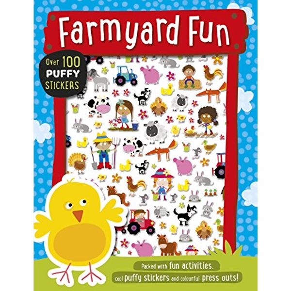 Farmyard Fun Puffy Sticker Book by Make Believe Ideas (Paperback, 2016)
