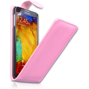 Yousave Samsung Galaxy Note 3 Flip Case - Baby Pink