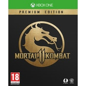 Mortal Kombat 11 Premium Edition Xbox One Game (with Shao Kahn DLC and Beta Access)