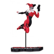 Harley Quinn Red White and Black Statue by Terry Dodson