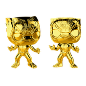 Black Panther Chrome Gold (Marvel) Funko Pop! Vinyl Figure #383