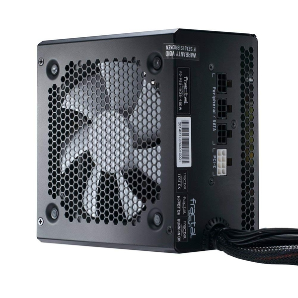 Fractal Design 450 W Integra M Power Supply Unit - Black UK Plug