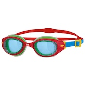 Zoggs Kids Little Sonic Air Goggles Red/Blue/Tint Kids
