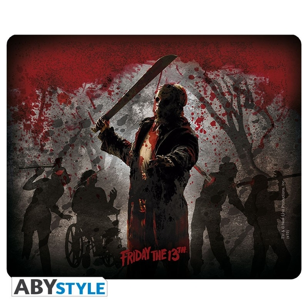 Friday The 13th - Mousepad - Jason the killer