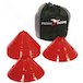 Precision Giant Saucer Cone (Set of 20) - Red - Image 2