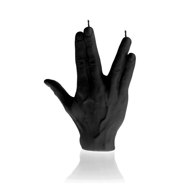 Black Hand SPCK Candle