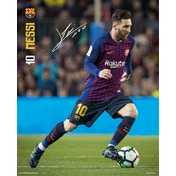 Barcelona FC Messi 18/19 Mini Poster