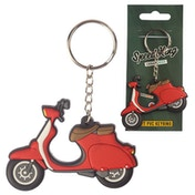 Scooter (Pack Of 6) PVC Keyring