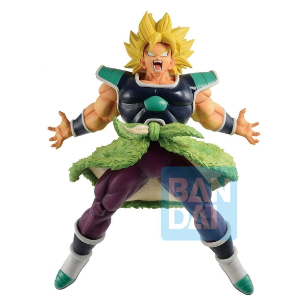 Dragon Ball Super Ichibansho PVC Statue Super Saiyan Broly Rising Fighters 24 cm