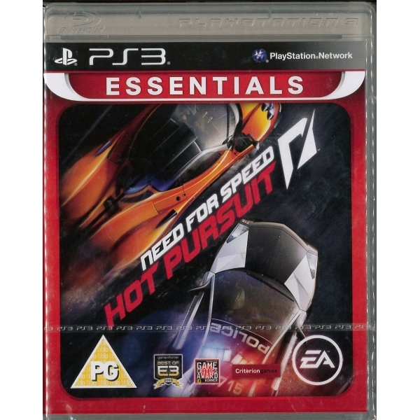 need for speed nfs hot pursuit essentials game ps3. Black Bedroom Furniture Sets. Home Design Ideas