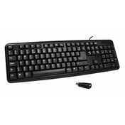 CiT KB-2106C USB/PS2 Combo Keyboard (Black)