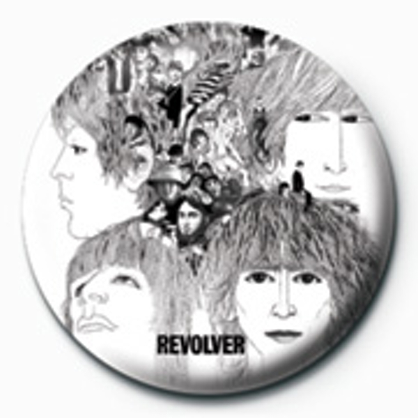 The Beatles - Revolver Badge - Image 1