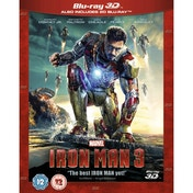 Iron Man 3 Blu-ray 3D & Blu-ray