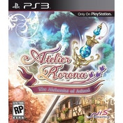 Atelier Rorona The Alchemist of Arland Game PS3 (#)