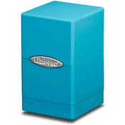 Ultra Pro Light Blue Satin Tower Deck Box