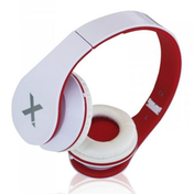 Approx (APPDJJAZZWR) DJ Jazz Headset, 3.5mm Jack, Foldable, White & Red