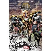 Marvel Avengers Age of Ultron Coloring Book