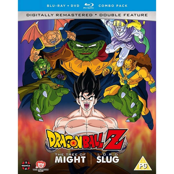 Dragon Ball Z Movie Collection Two: The Tree of Might/Lord Slug - DVD/Blu-ray Combo